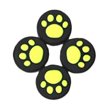 harga Bluelans Silicone Thumb Switch Cap Cat Paw Pattern Cover Protective Controller Grip - Green [4 pcs] Blibli.com