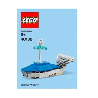 Lego 40132 Monthly Mini Model Whale Build Set & Block [2015 07 July]