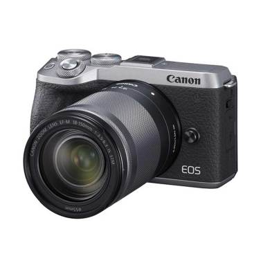 Camera.co.id - Canon EOS M6 Mark II Kit EF-M18-150mm f/3.5-6.3 IS STM  Kamera Mirrorless silver