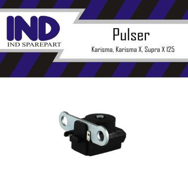 harga IND Onderdil Pulser-Pickup-Spull for Honda Karisma - Supra X 125 - Kharisma X HItam Blibli.com
