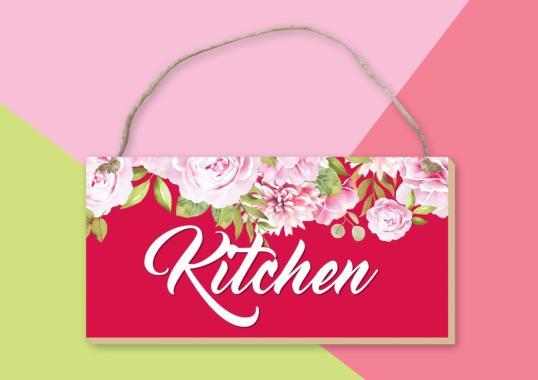 Jual Vingy Home Decor Bathroom Home Wall Decor Red Blossom Online November 2020 Blibli Com