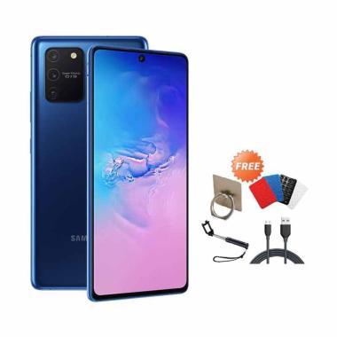 harga Samsung Galaxy S10 lite [8GB/128GB] + Free I-ring, Gurita, Tongsis, Cable Data [Garansi Resmi] blue Blibli.com