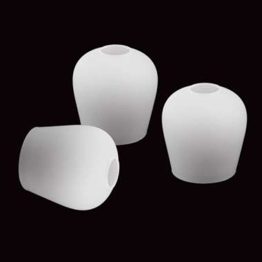 harga 3pcs E27 and E14 Socket Opal Glass Light Shade, Pendant Wall Lamp Shades - Blibli.com