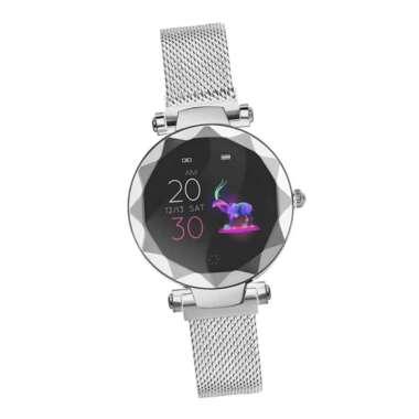 harga Bluetooth4.0 Smart Watch Heart Rate Monitor Wristband Sport Fitness Tracker Silver Blibli.com