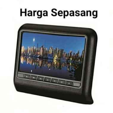 harga Car Headrest 9 INCH TV Monitor Mobil 9 inci Clip On non DVD Player Games Blibli.com