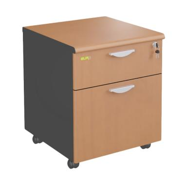 Euro DMD 4811 Mobile Drawer [1 Laci dan 1 Filing]