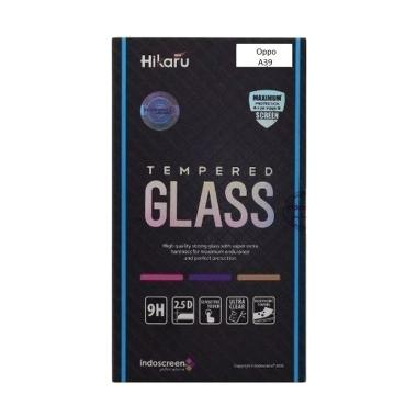HIKARU Tempered Glass Screen Protector for Oppo A39 - Clear