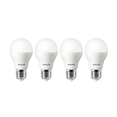 PHILIPS LED Lampu Bohlam - Putih [10.5 W/4 pcs]