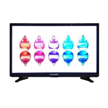 Polysonic 2400 TV LED - Hitam [24 Inch]