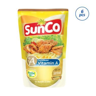 Sunco Minyak Goreng Pouch [2000 mL/6 Pcs]