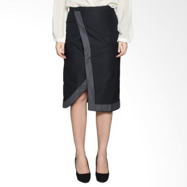 Neusa Sukma Skirt NSS-003.16 Etnik Rok Wanita - Black