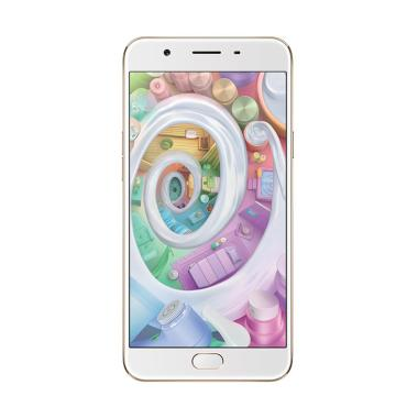 OPPO F1S Plus Smartphone - Gold [64GB/RAM 4GB]