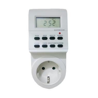 HELES Timer Digital Stop Kontak [24 Jam]