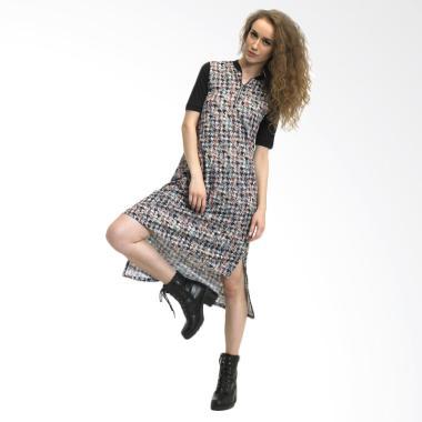 Beyounique A line Midi Dress Wanita