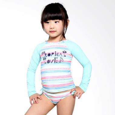 Roxy Kids Palmo Kids L/S K SFSH WCD3 Baju Renang Anak Perempuan