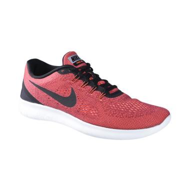 Nike Free Rn Sepatu Lari Pria - Orange 831508-803