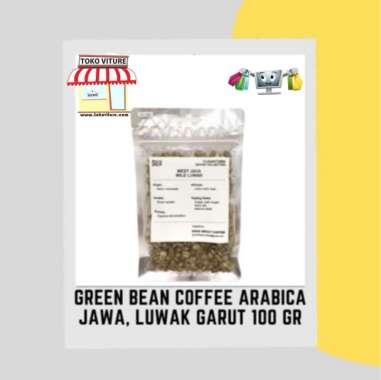 SUJI GREEN BEAN COFFEE ARABICA JAWA LUWAK GARUT BIJI KOPI MENTAH 100GRAM