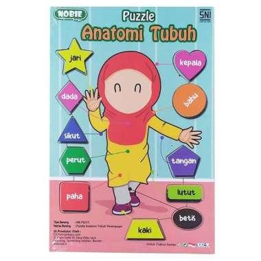 harga Puzzle Tubuh Anak Perempuan Mengenal Anggota Tubuh Blibli.com