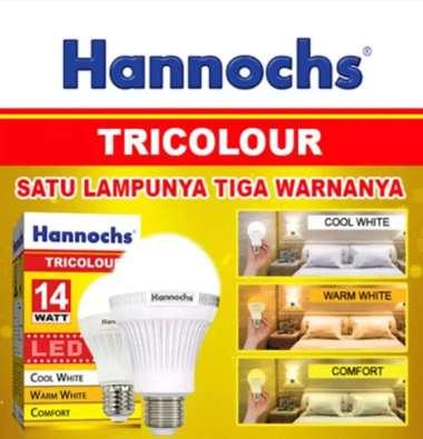 harga Hannochs TRICOLOUR 14Watt Tiga Warna Multicolor Blibli.com