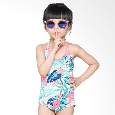 Roxy Kids 1PC G WBT6 Jungle Poem Baju Renang Anak
