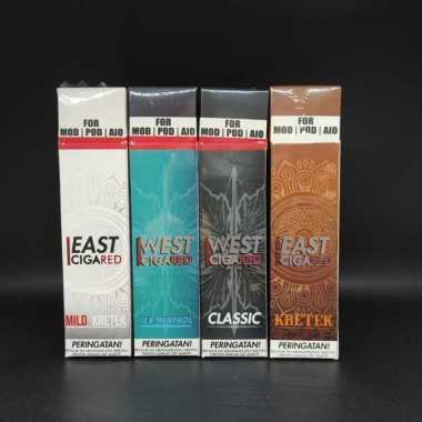 Liquid Cigared West Ice Mentol Freebase Series 60ml 12mg