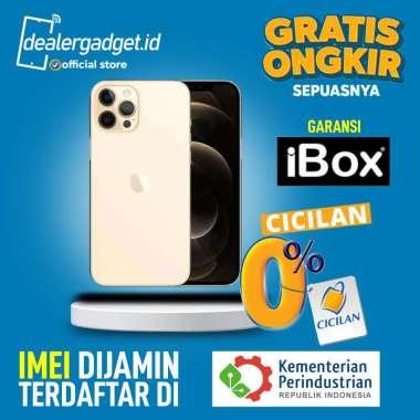 harga IPhone 12 Pro Max 256GB RESMI IBOX 1 Tahun Gold Blibli.com