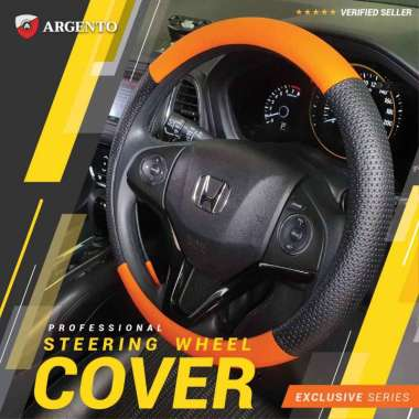 harga VW Kodok Golf Polo Golf MK6 Beetle Phaeton Safari Touran Combi Cover Stir Steer Sarung Setir Mobil Exclusive Argento Orange Hitam Blibli.com