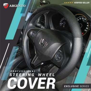 harga VW Kodok Golf Polo Golf MK6 Beetle Phaeton Safari Touran Combi Cover Stir Steer Sarung Setir Mobil Exclusive Argento Hitam Bintik Blibli.com
