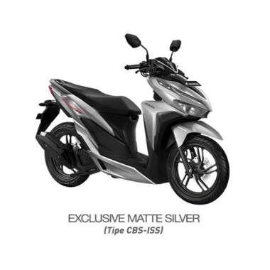 harga Honda New Vario 150 eSP CBS ISS Exclusive Sepeda Motor [VIN 2021/ OTR Sulawesi] No Matte Silver Makassar Blibli.com