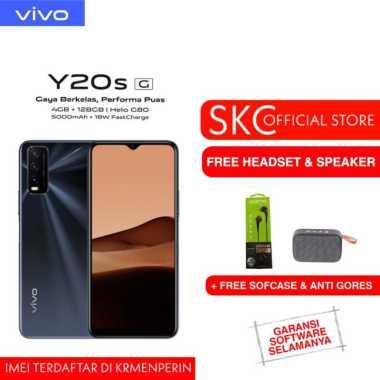 harga VIVO Y20S (G) 4/128GB FREE SPEAKER BLUETOOTH + HEADSET GARANSI RESMI hitam Blibli.com