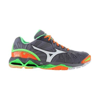 Mizuno X V1GA161206 Wave Tornado Volleyball Shoes - Grey