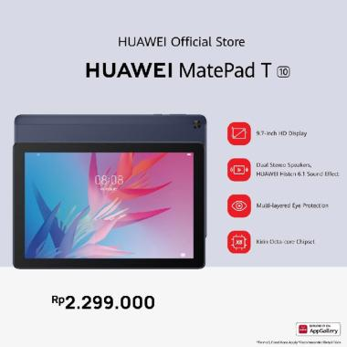 Available on 27 Maret | Huawei Matepad T10 | Powerful Performance | Eye Protection | Immersive Stereo Sound | Tablet