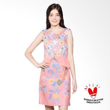 Benangsari Adinda Dress Batik - Jingga