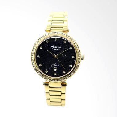 Alexandre Christie 2603 Jam Tangan Wanita - Gold