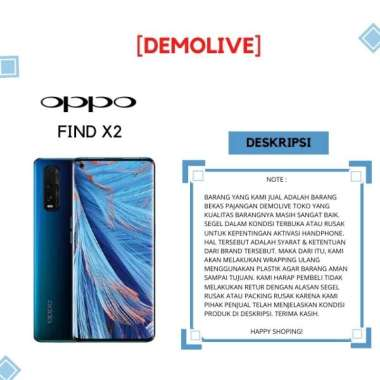 OPPO FIND X2 [ DEMOLIVE ] BLUE
