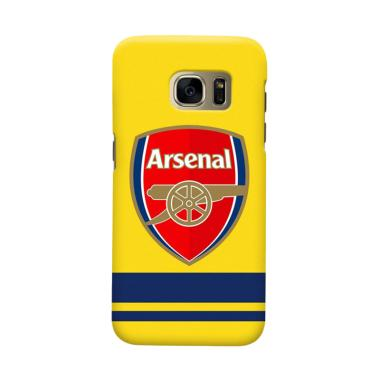 Indocustomcase Arsenal FC AFC10 Cover Casing for Samsung Galaxy S6 Edge Plus