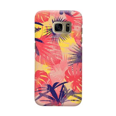 Indocustomcase Forest Cover Casing  For Samsung Galaxy S6 Edge Plus