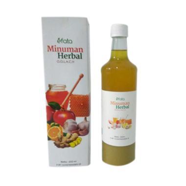 EFATA Minuman Herbal GGLACH Mencega ...  Kolesterol Alami [650mL]
