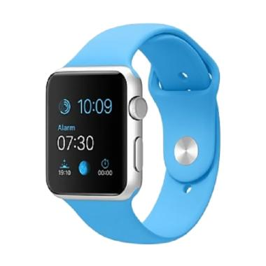 Pabrik ACC Sport Strap Ruber for Apple Watch 4.2 mm - Blue Soft