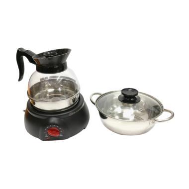 Akebonno HU-j102 Set Multi Cooker - Hitam