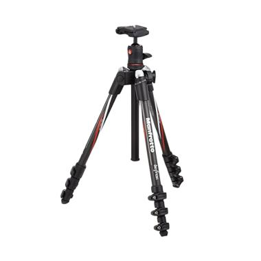 Manfrotto MKBFRC4-BH Befree Carbon Fiber Tripod with Ball Head - Black