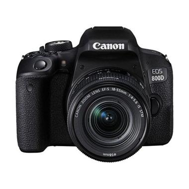 Canon EOS 800D Kit 18-55mm IS STM K ... k + Free LCD Screen Guard