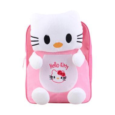 Catenzo Junior Tas Ransel Anak Perempuan Hello Kitty - Pink