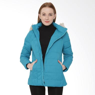 COLDWEAR 16079 Winter Down Jacket Wanita - Teal