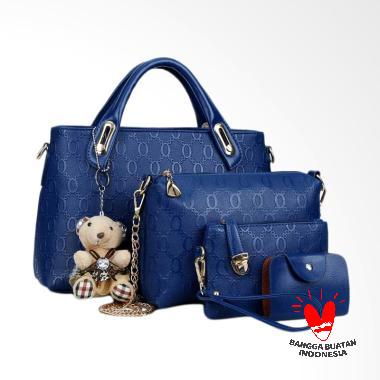 IMF BG6688 Best Quality Tas Import 4in1 - Biru