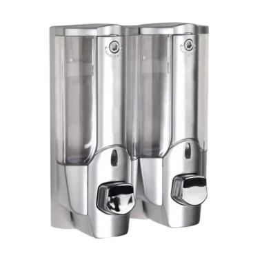 Dispenser Sabun Cair Kembar Silver