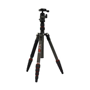 Fotopro X-Go Carbon Tripod - (Black / Orange) jpckemang