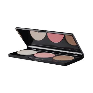 Flair Make Up 3in1 Color Effects Palette Blush on and shading - Peach