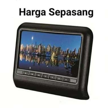 harga Car Headrest 9 INCH TV Monitor Mobil 9 inci Clip On non DVD Player Gam Multicolor Blibli.com