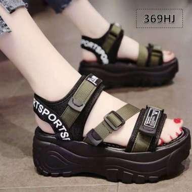 harga Sandal Gunung Wanita Triple Strap hijau Blibli.com